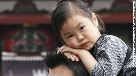 Number of children in Japan shrinks to new record low
