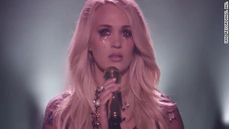 Carrie Underwood's first music video since accident - CNN Video
