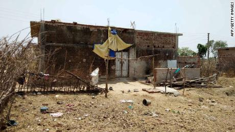 The location of the rape and murder of a 16-year-old girl on May 3, at Raja Kundra village in the eastern Indian state of Jharkhand.