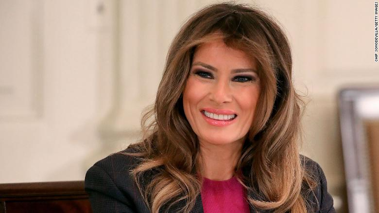 Melania Trump's popularity jumps in new poll
