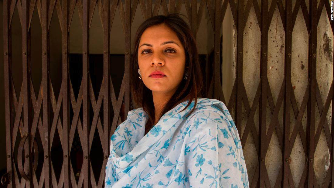 Akriti Kholi, 29, teacher at Delhi University