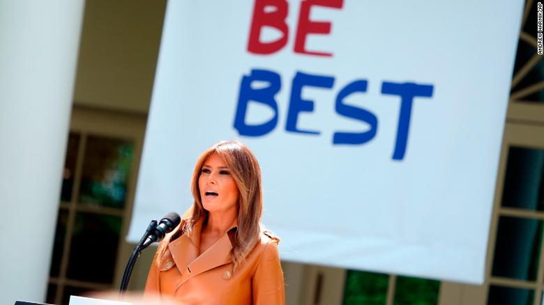 4df9e8cfed1d0 Melania Trump pushes  Be Best  initiative with trip to Nashville ...