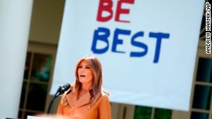 Melania Trump unveils her platform, tells kids to 'Be Best'