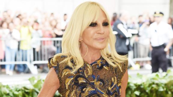 Fashion iconDonatella Versace is co-chairing this year