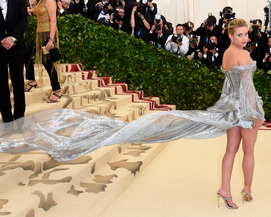 Bold, creative and over-the-top perfectly sums up the 2018 Met Gala -- a benefit for the Metropolitan Museum of Art's Costume Institute -- held Monday night.<br />