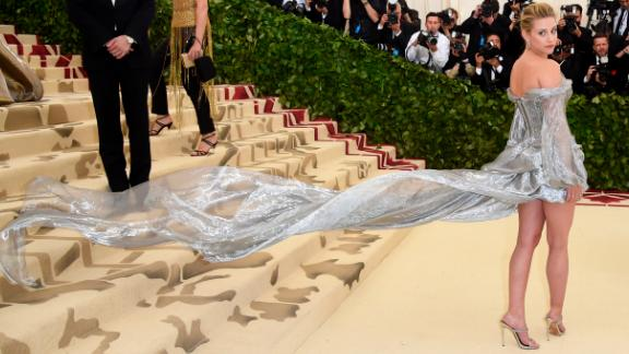 Bold, creative and over-the-top perfectly sums up the 2018 Met Gala -- a benefit for the Metropolitan Museum of Art