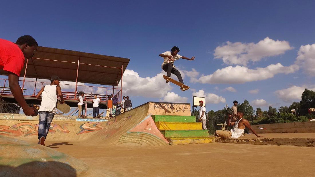Kenya's kickflip kids: Dropping in with Nairobi's skateboard