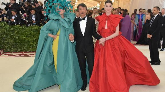 """Wearing a piece by Valentino, Frances McDormand said """"I"""