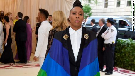 Lena Waithe attends The Metropolitan Museum of Art's Costume Institute benefit gala celebrating the opening of the Heavenly Bodies: Fashion and the Catholic Imagination exhibition on Monday, May 7, 2018, in New York. (Photo by Evan Agostini/Invision/AP)