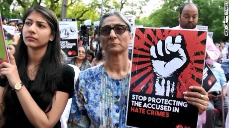 Series of rape cases spark protests in India