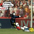 andres escobar world cup moments