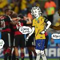 david luiz maicon world cup moments