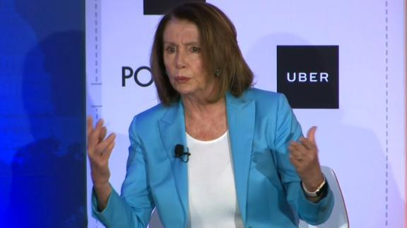 Nancy Pelosi at the Politico Playbook Event    You can arrive anytime after 6:30 a.m., and cameras must be done and preset by 7:30. Below is the run of show. Please let me know if there's anything else you need from us!       TIME PROGRAMMING PEOPLE  8:00 AM Doors Open to Registered Guests   8:23 AM POLITICO Welcome Remarks Anna Palmer and Jake Sherman, POLITICO Playbook Co-authors  8:25 AM Uber Welcome Remarks Danielle Burr, Head of Federal Affairs, Uber  8:35 AM Playbook Interview Nancy Pelosi, House Democratic Leader    Moderated by:  Anna Palmer and Jake Sherman, POLITICO Playbook Co-authors  ~9:20 AM Event Wraps