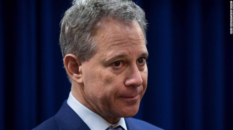 Former New York AG Eric Schneiderman's law license has been suspended for a year over allegations of abuse
