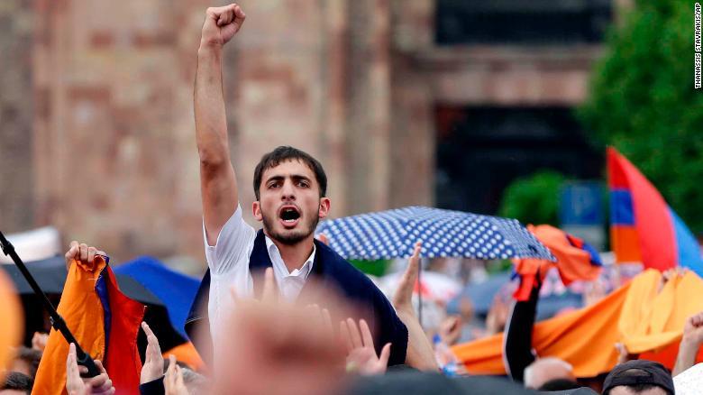 pashinyan armenia ile ilgili görsel sonucu