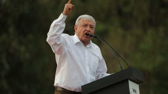 Front-runner Manuel Lopez Obrador