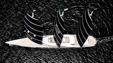 Black Pearl's owner wanted to build a yacht with the lowest possible carbon footprint.