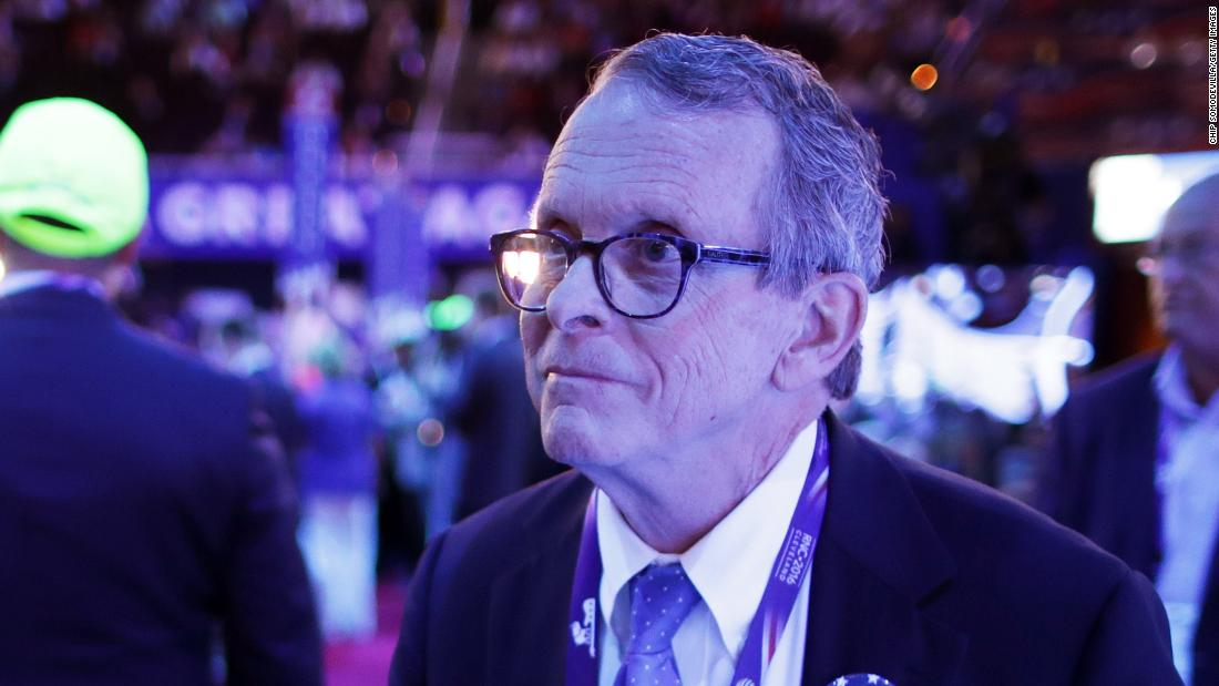 Ohio Gov. DeWine is latest Republican to say wearing a mask isn't about politics
