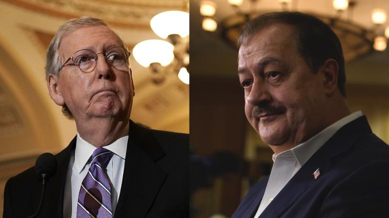 McConnell team trolls Blankenship after loss