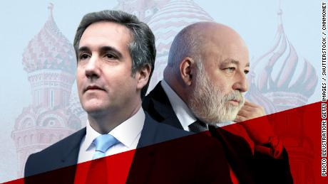 michael cohen viktor vekselberg russia investigation oligarch