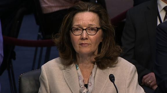 SEN. Intel Cmte Hrng: Haspel Nomination to be CIA Director  Witness Camera