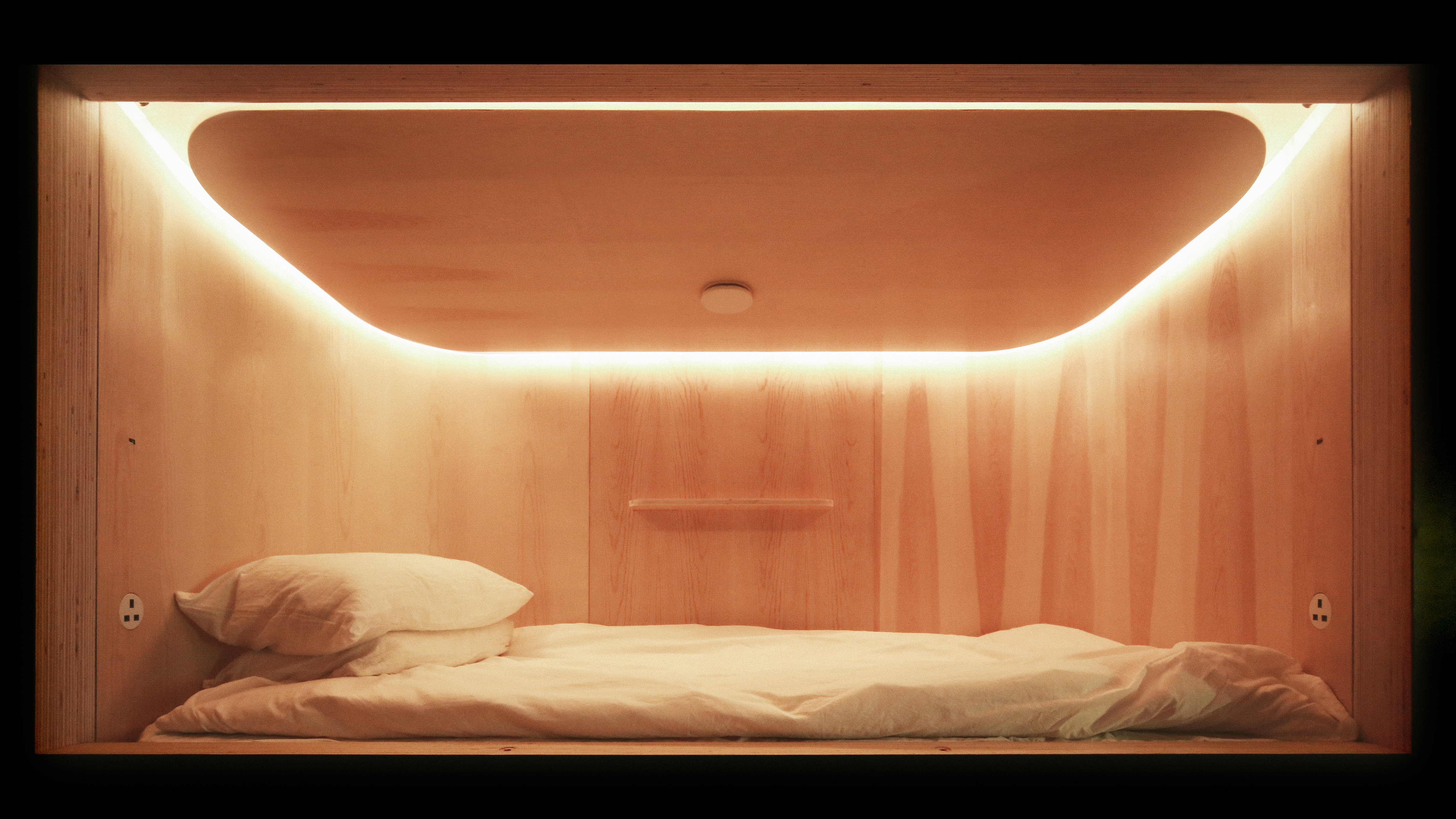d4132ca2cdcb Hong Kong sleep capsules offer rest in a crowded city