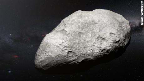 Why this rare asteroid was 'exiled' from our solar system