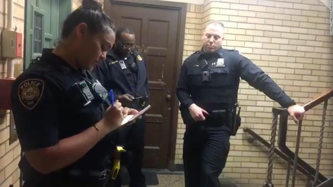 Yale officers admonished the white student who called police on a napping black student