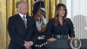 Trump honors military spouses, mothers