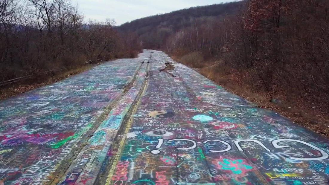 This colorful 'Graffiti Highway' is being shut down for good