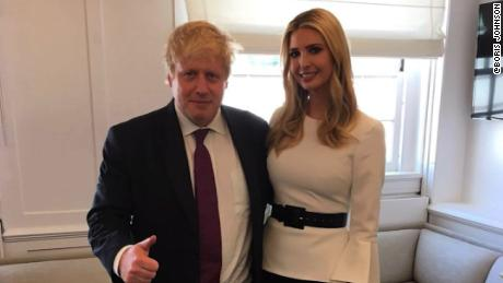 boris johnson ivanka trump