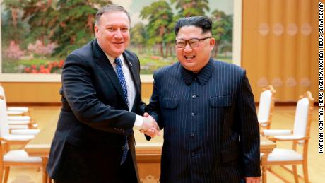 Pompeo says talks with North Korea's Kim were 'warm'