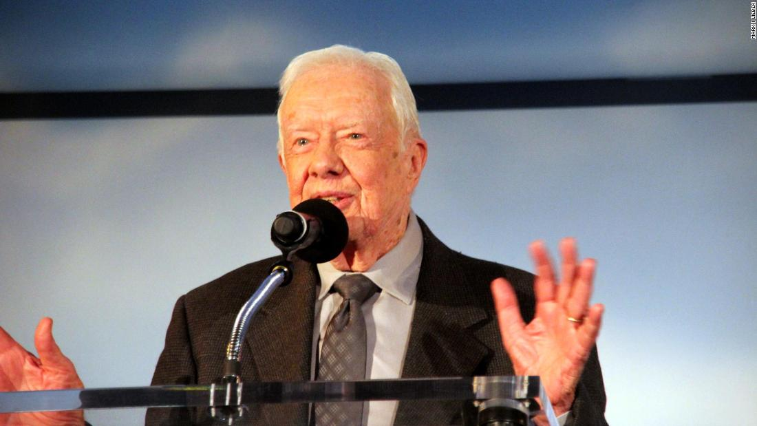 Jimmy Carter says discrimination against women and girls is the world's biggest problem