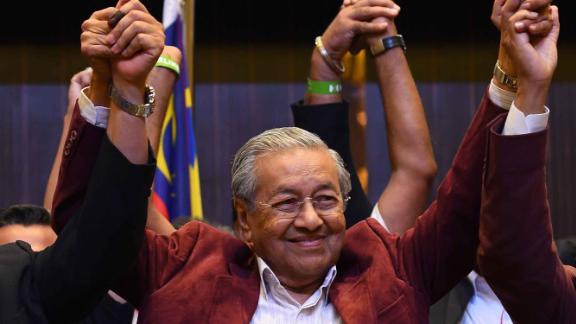 Malaysia's opposition alliance headed by veteran ex-leader Mahathir Mohamad, 92, has won a historic election victory, official results showed on May 10, 2018, ending the six-decade rule of the Barisan Nasional (BN) coalition.