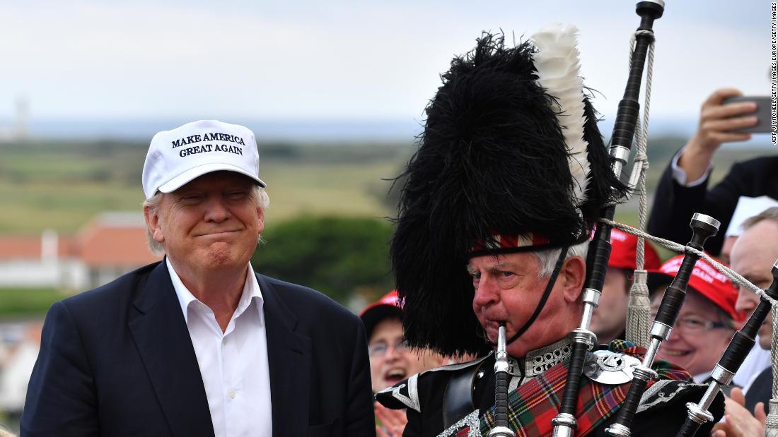Turnberry: Das bisschen, Großbritannien, gehört zu Donald Trump