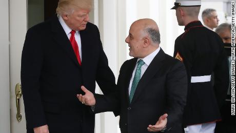 President Trump welcomed Prime Minister Abadi to the White House in March 2017.