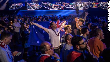 Eurovision song contest could make you happier, study suggests