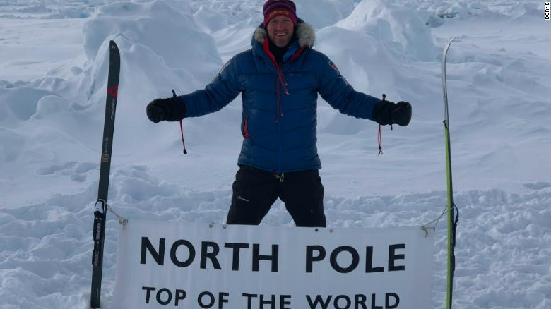Will Greenwood at the North Pole