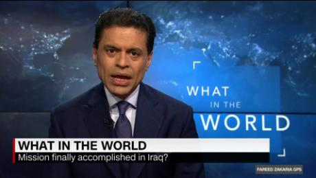 What in the World: Good news in Iraq