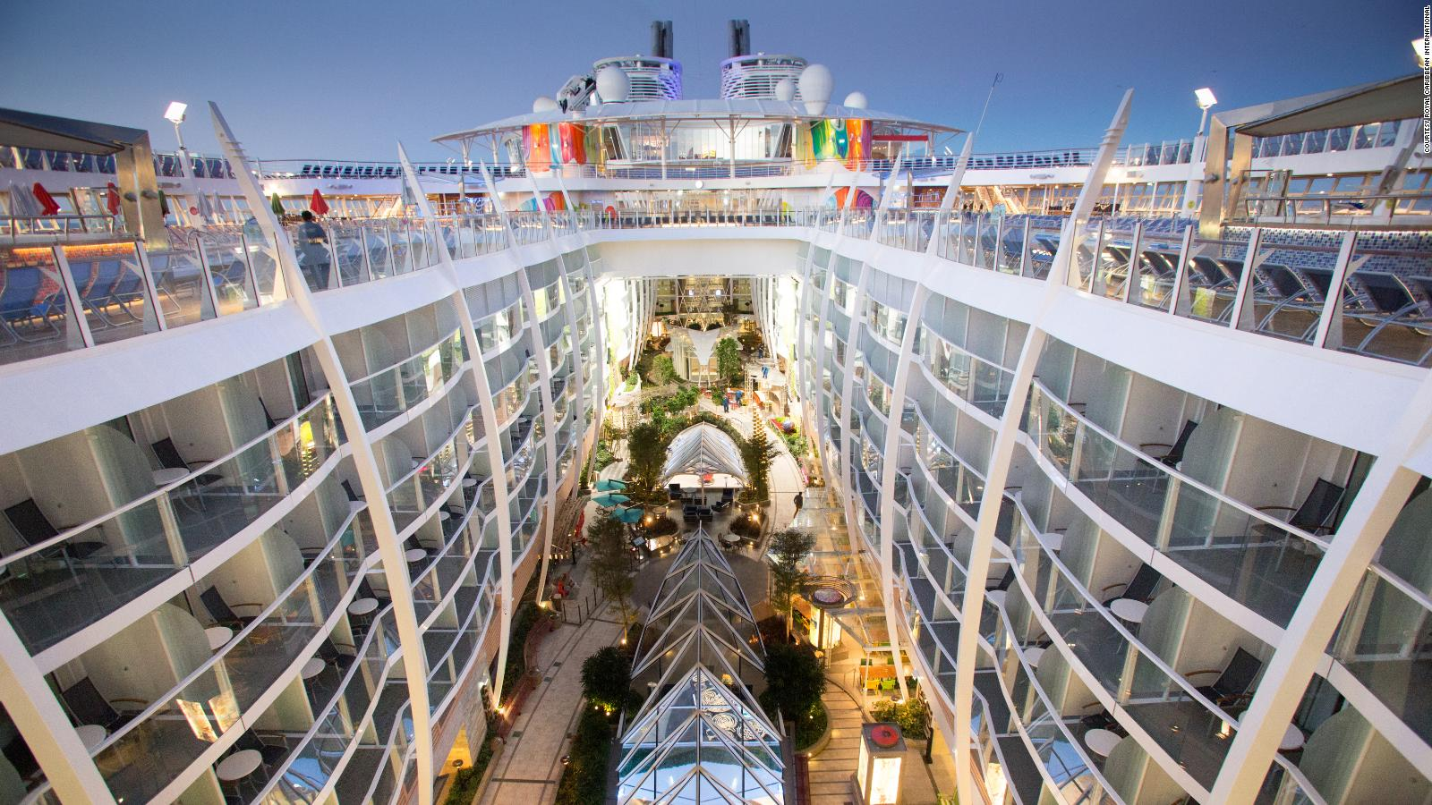 15 Biggest Cruise Ships In The World Cnn Travel