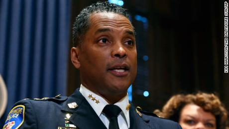 Darryl De Sousa has been Baltimore's police commissioner since January.