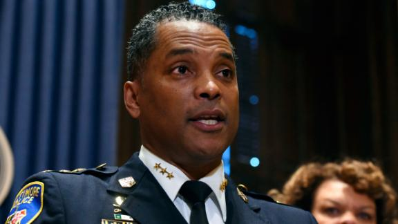 Darryl De Sousa resigned as Baltimore Police commissioner on Tuesday, just four months after he took over the role.