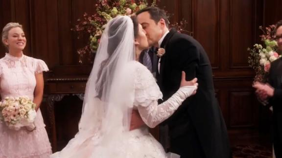 "title: The Big Bang Theory - Sheldon and Amy's Wedding duration: 00:05:23 site: Youtube author: null published: Thu May 10 2018 23:30:01 GMT-0400 (Eastern Daylight Time) intervention: yes description: Sheldon and Amy's wedding ceremony brings everyone to tears.  Subscribe to ""The Big Bang Theory"" Channel HERE: http://bit.ly/1KQqCNq  Watch Full Episodes of ""The Big Bang Theory"" HERE: http://bit.ly/198N1yc  Follow ""The Big Bang Theory"" on Instagram HERE: http://bit.ly/1hjctM8 Like ""The Big Bang Theory"" on Facebook HERE: http://on.fb.me/1nQ6tXu Follow ""The Big Bang Theory"" on Twitter HERE: http://bit.ly/1N9NqFk Follow ""The Big Bang Theory"" on Google+ HERE: http://bit.ly/1E88lU4  Get the CBS app for iPhone & iPad! Click HERE: http://bit.ly/12rLx"