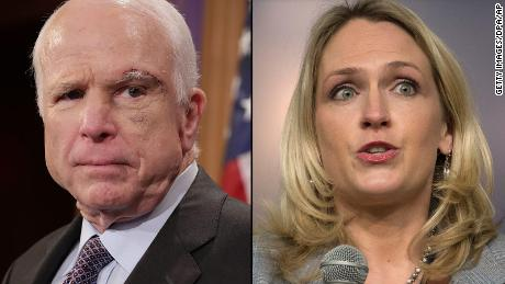 White House aide joked of 'dying' McCain