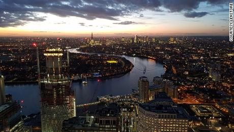 London first panormaic timelapse