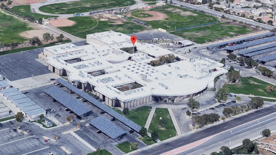 California school shooting: 1 injured