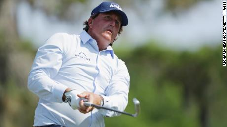 Phil Mickelson's shirt turned heads at Sawgrass.