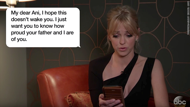 Image result for Anna Faris and more celebs read hilarious texts from their moms
