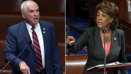 maxine waters mike kelly clash bts_00003022