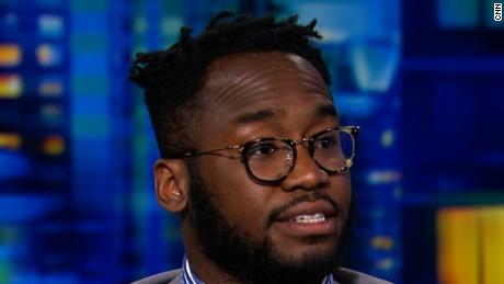 Reneson Jean-Louis on CNN Tonight